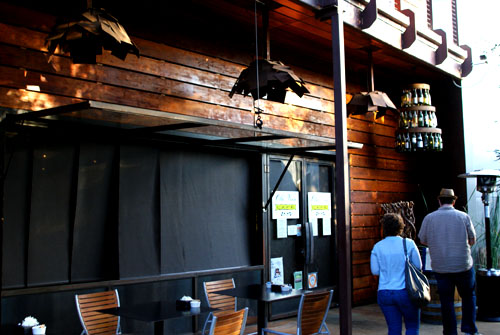 Old Vine Café Exterior