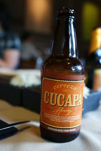 Cerveza Cucapa Honey Beer (Mexico)
