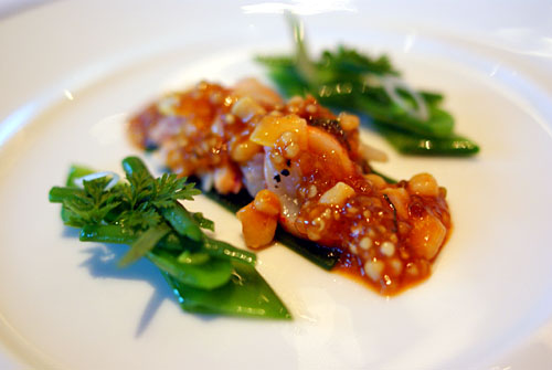 Marinated Lobster, Salad and Gelée of Spring Herbs