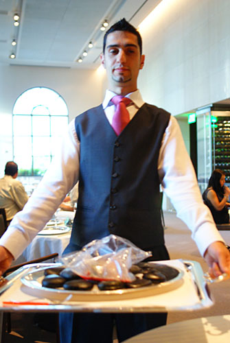 Foie-Gras 'en Papillote' and Radish Bouillon