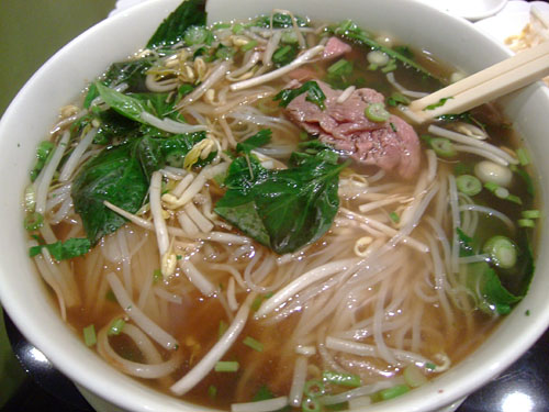 Pho Tai Filet Mignon