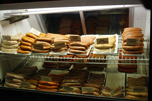 Ordering Area: Sausage Case