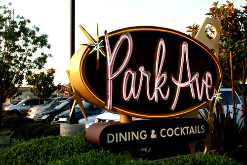 ParkAve Sign