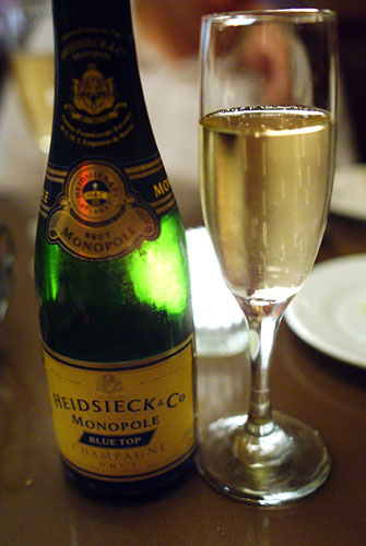 Heidsieck Monopole Champagne Blue Top Brut