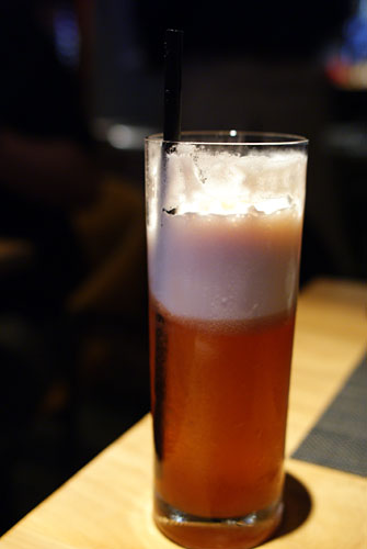 Sloe Gin Fizz