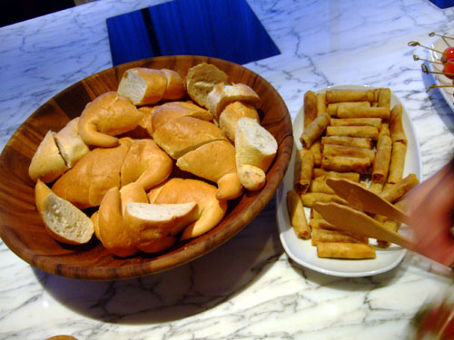 Bread and Eggrolls