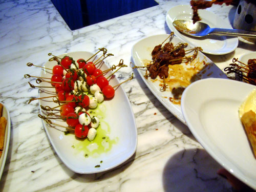 Skewered Caprese