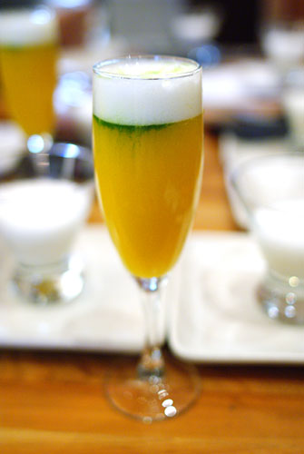 Chef's Welcome Cocktail Drink