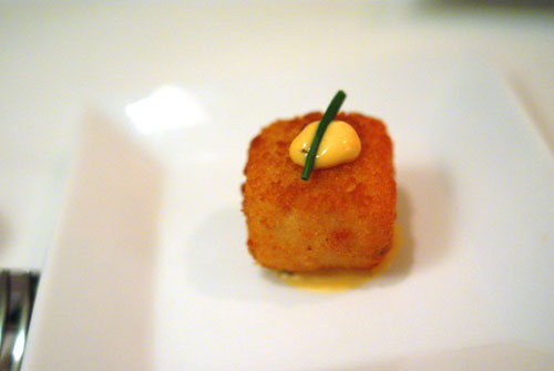 Truffle Arancini with Lemon Aioli