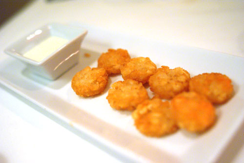 Tater Tots with Hidden Valley Ranch