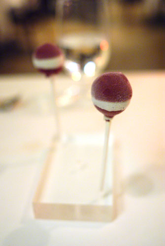 Red Wine Ice Cream Lollipop