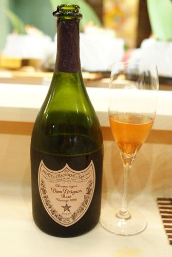 1996 Moët & Chandon Champagne Cuvée Dom Pérignon Rosé