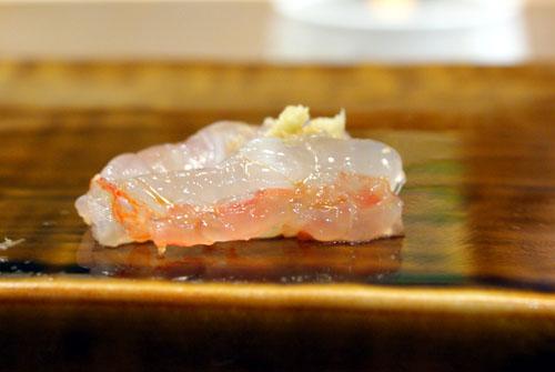 Amaebi Sashimi / Sweet Shrimp Sashimi