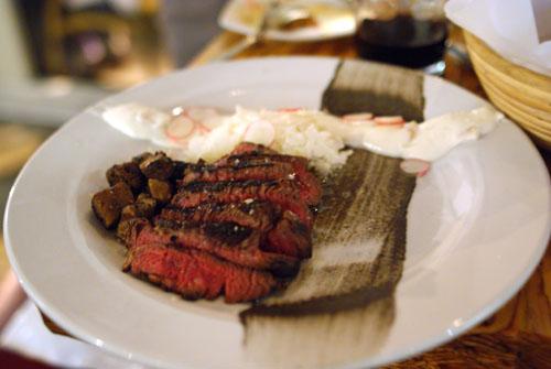 Grilled Beef Tenderloin Black Sesame Miso Smoked Eggplant
