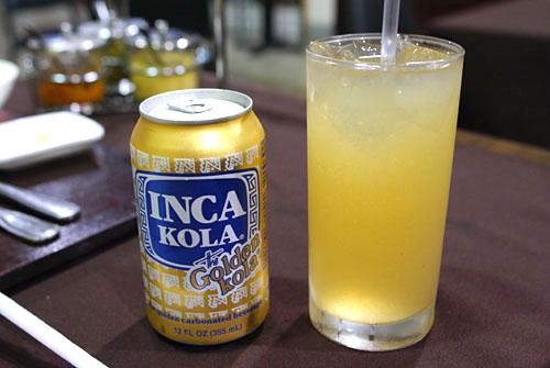 Inca Kola & Cebada