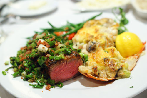 Lobster Thermidor, Dal Rae & Dal Rae Famous Pepper Steak