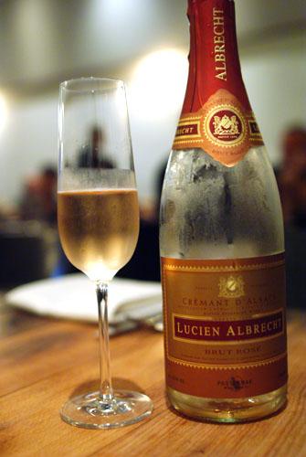Cremant d'Alsace, Lucien Albrecht Brut Rose, NV Alsace