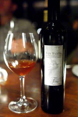 1996 Tiberini Vin Santo di Montepulciano Occhio di Pernice