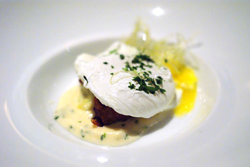 Poached Organic Ranch Egg