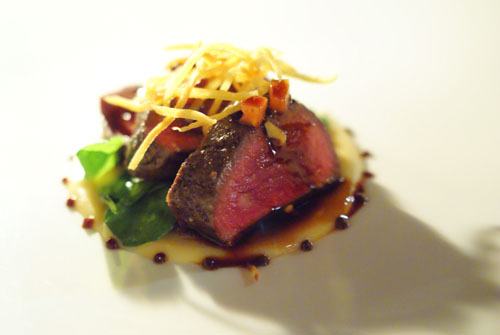 New Zealand elk tenderloin