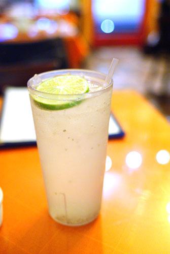 Aqua de Limon con Semillas de Chia
