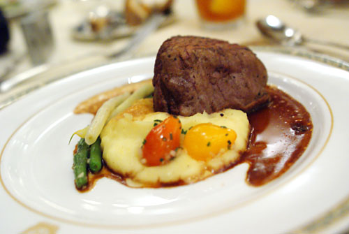 Filet of Chateaubriand, Cabernet Demi-Glace