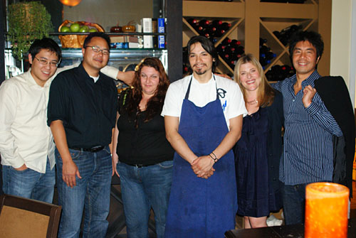 Group Photo with Chef Sydney Hunter