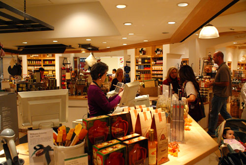 Inside Williams-Sonoma South Coast Plaza