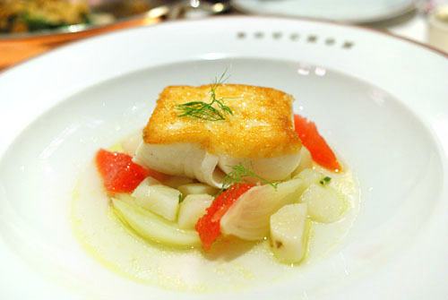 Pan-Seared Alaskan Halibut