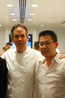 With Thomas Keller