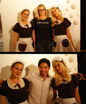 Cosplay Maids with Krissy and Brian
