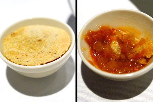 JOHN DORY FILLET: Crunchy Sauce