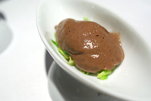 LOIN OF VENISON: 'Grand Veneur' Quenelle