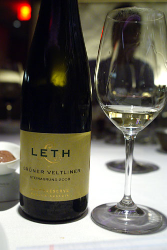 2008 Leth Grner Veltliner Lagenreserve Steinagrund Wagram