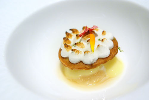 GRAND DESSERT PIERRE GAGNAIRE: Nelson Sabl, Meringue, Citrus Sorbet