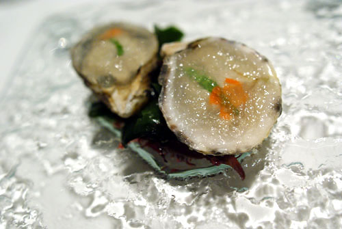 Oysters in Ice Gelée