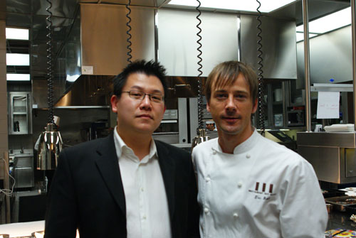 Chef Eric Bost
