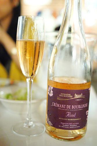 NV Domaine des Roches Cremant de Bourgogne Rosé