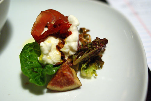 Gioia Burrata and Bresaola Salad