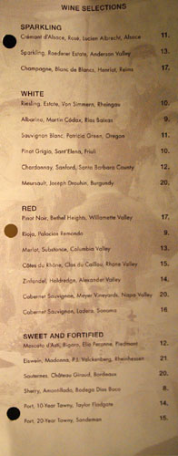 Sage Wine Selections