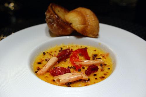 Foie Gras Custard 'Brûlée'