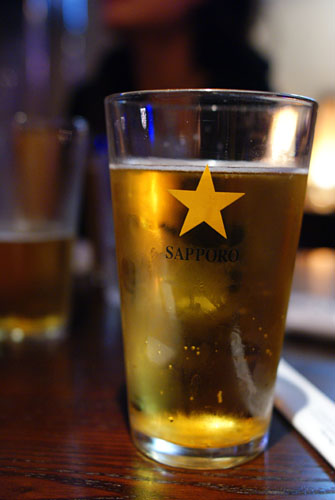 Sapporo Draft Pitcher