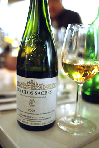 2006 Nicolas Joly Savennires Les Clos Sacrs (Les Vieux Clos)