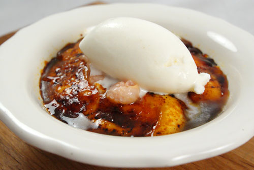 Vanilla Crme Brulee, Rose Ice Cream
