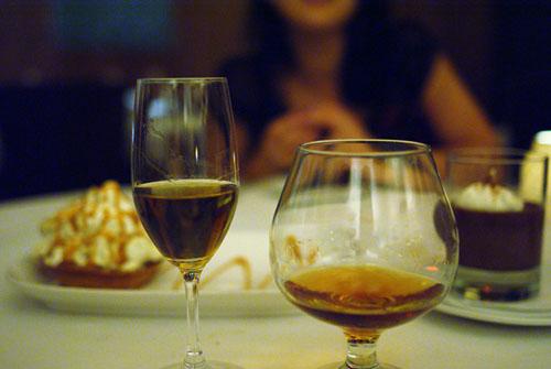 Marolo Chamomile Grappa, Hennessey VS Cognac