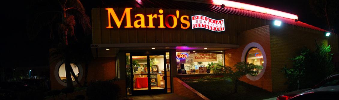 Mario's Peruvian Seafood Exterior