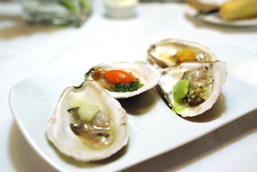 A Quartet of Island Creek Oyster Slurpees
