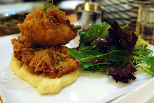 Fried Chicken with Mashed Potato