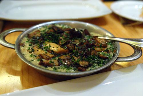 Mushroom Pearl Pasta Risotto