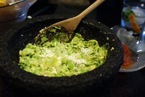 Guacamole (prepared tableside)